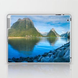 Serene Morning at Milford Sound Laptop & iPad Skin