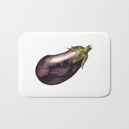 Eggplant Bath Mat