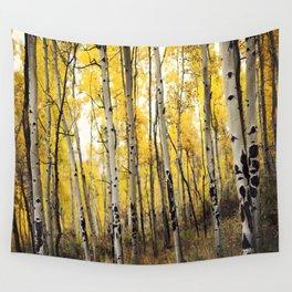 Aspen Trees of Colorado Wall Tapestry