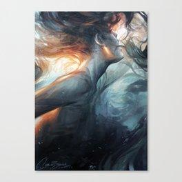 Submerge Canvas Print