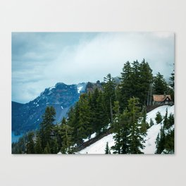 Crater lake-OR Canvas Print