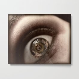 Only Through My Eyes Metal Print