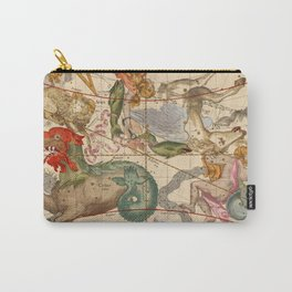 Star Atlas Vintage Constellation Map Ignace Gaston Pardies Carry-All Pouch