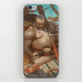 Defender of the rum iPhone Skin