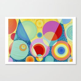 Diatoms #1 Canvas Print