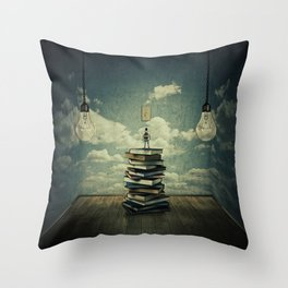 switch on your mind Throw Pillow