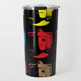 Cyberman Pop Art Travel Mug