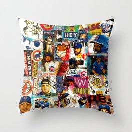 Go CUBS Go! Throw Pillow