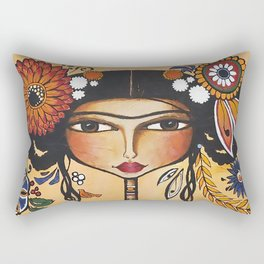 Frida's flowers Rectangular Pillow