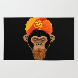 Stoned Monkey Rug