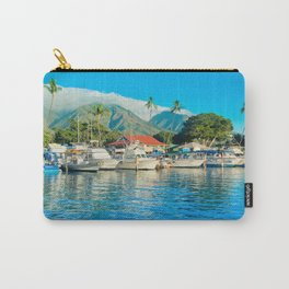 Lāhainā Marina Sunset Maui Hawaii Carry-All Pouch