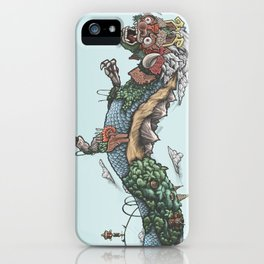 Savage Civilization iPhone Case