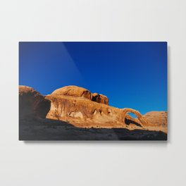 Corona Arch at sunset Metal Print