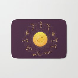 Sun Salutation Bath Mat