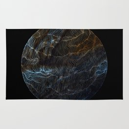 Sail to Jupiter Rug
