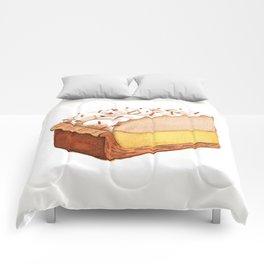 Coconut Cream Pie Slice Comforters