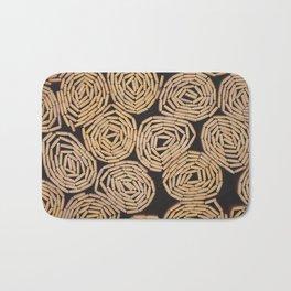 Wood planks texture Bath Mat
