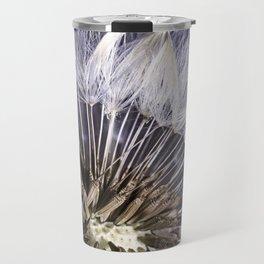 Dandelion Seed Macro Travel Mug