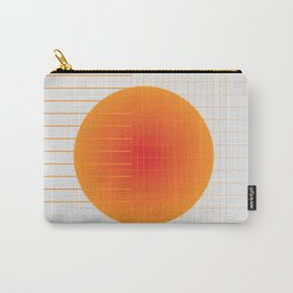 Binary Glow Carry-All Pouch
