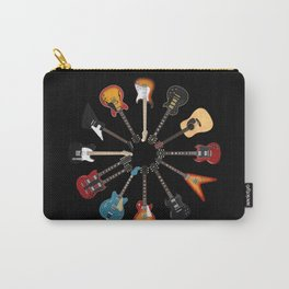 Guitar Circle Carry-All Pouch