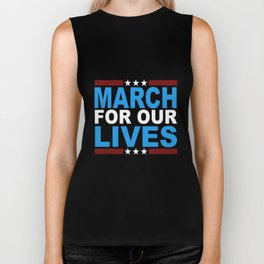 March for Our Lives Shirt Biker Tank