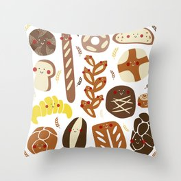 You've got great buns Throw Pillow
