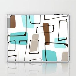 Midcentury Modern Shapes Laptop & iPad Skin