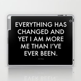 """Everything"" Text Laptop & iPad Skin"