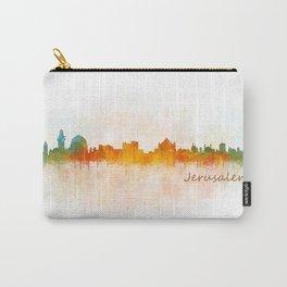 Jerusalem City Skyline Hq v1 Carry-All Pouch