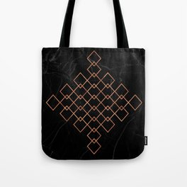 Copper & Marble Tote Bag