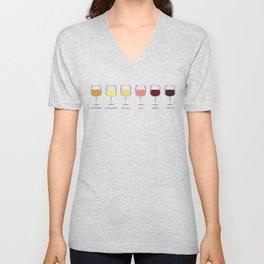 Wine Spectrum Unisex V-Neck