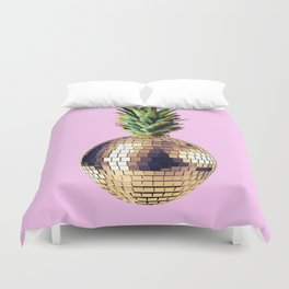 Ananas party (pineapple) Pink version Duvet Cover