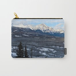 Pyramid Mountain in the Winter, Alberta Carry-All Pouch