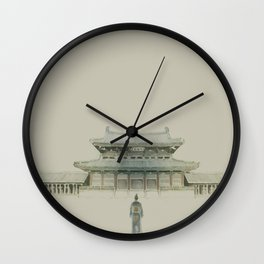 I Will Find You Wall Clock
