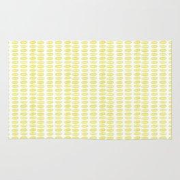 Yellow dots Rug