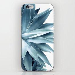 Bursting into life - teal iPhone Skin
