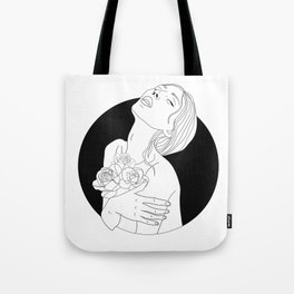 flowers are in her soul Tote Bag