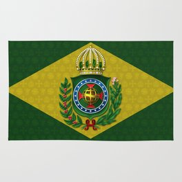 Dom Pedro II Coat of Arms Rug