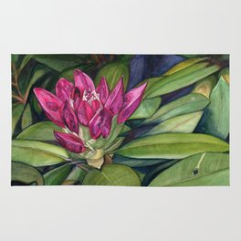 Rhododendron Bud Rug