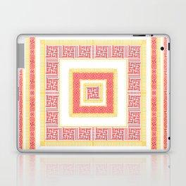 Slavic Square Mandala - Odolen Trava - Symbol Laptop & iPad Skin
