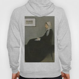 Whistlers Mother Oil Painting by James McNeill Whistler Hoody