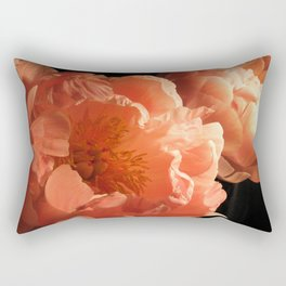 Two Peonies 1 Rectangular Pillow