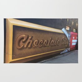 """Chocolate City"" Rug"