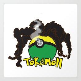 Tokemon Art Print