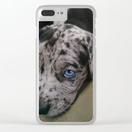 My Dixie Blue Clear iPhone Case