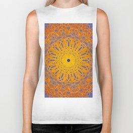 Symmetry 12: Sunflower Biker Tank
