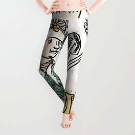 Judith and Holofernes Leggings