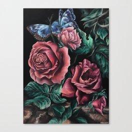 """An Interpretation"" Painting, Inspired by Willem van Aelst Canvas Print"