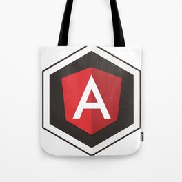 Angular Js developer sticker angularjs javascript framework Tote Bag