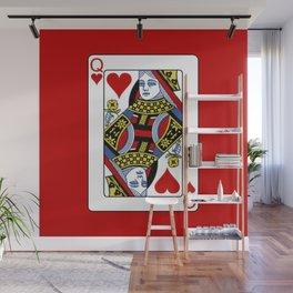 Queen of Hearts T-Shirt / Unisex Wall Mural